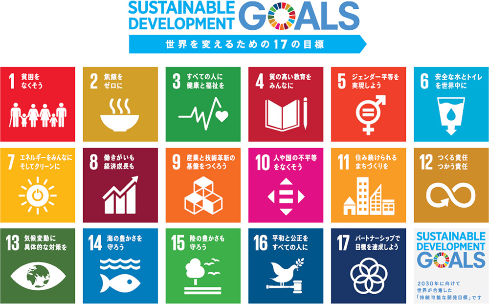「持続可能な開発目標 (Sustainable Development Goals)